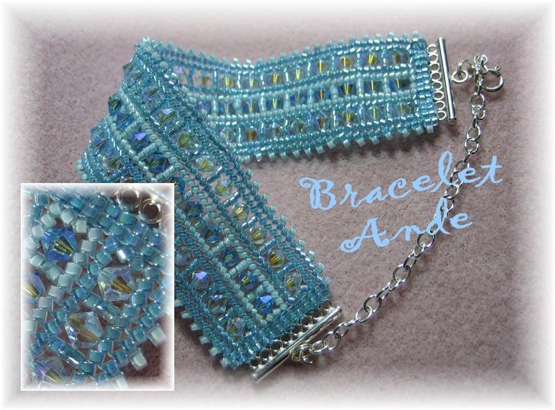 Bracelet Ande perles de verre